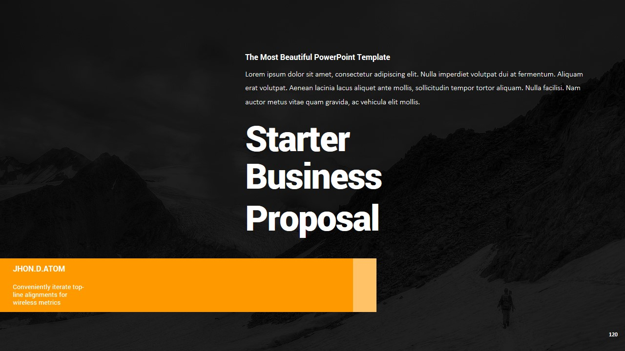 Business proposal powerpoint template by jhondatom graphicriver business proposal powerpoint template toneelgroepblik Image collections