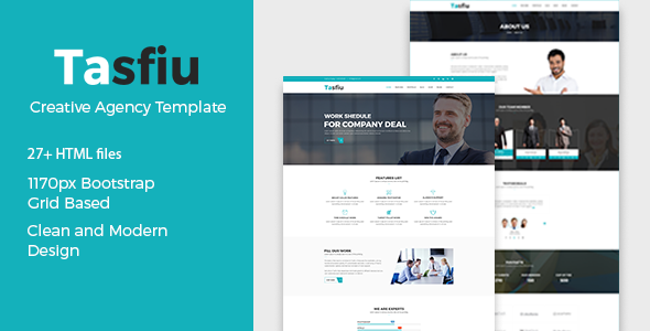 Tasfiu – Multipurpose HTML Template - Business Corporate