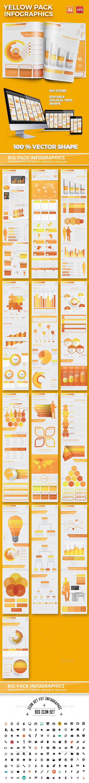 Yellow Pack Infographics - Infographics