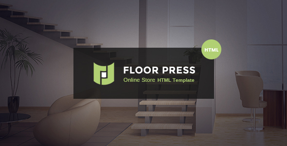 FloorPress – A Responsive Sales and Services HTML Template for Flooring or Other Businesses