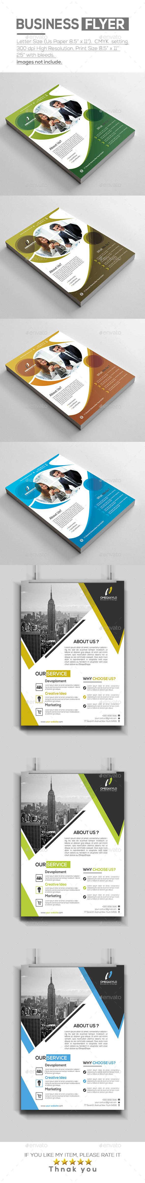 Flyer Bundle ( 2 In 1 ) - Corporate Flyers