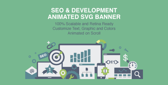 Animated SVG Banner SEO & Development - CodeCanyon Item for Sale