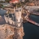 Famous Castle Swallow's Nest On The Rock - VideoHive Item for Sale