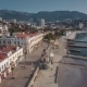 View Of The Embankment Of Yalta From Seaside - VideoHive Item for Sale