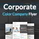 Corporate Color Company Flyer - GraphicRiver Item for Sale