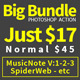 Big Bundle Photoshop Action - GraphicRiver Item for Sale