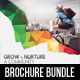 3 Corporate Business Square 3-Fold Brochure Bundle V2 - GraphicRiver Item for Sale