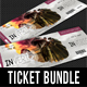 3 in 1 Special Party Event Ticket Bundle V04 - GraphicRiver Item for Sale