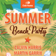 Summer beach Vacation Flyer Template 139 - GraphicRiver Item for Sale