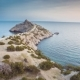 View On The Blue Bay In Crimea - VideoHive Item for Sale