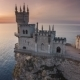 Castle Swallows Nest In Yalta In The Crimea - VideoHive Item for Sale