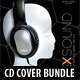 3 in 1 Exsound Music CD Cover Bundle