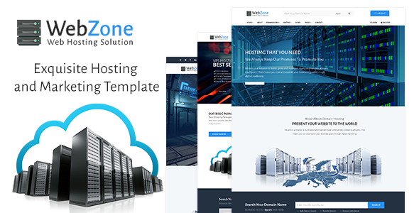 WebZone - Exquisite Hosting and Marketing Template