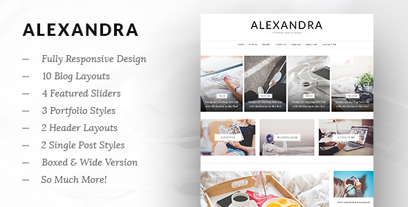 Alexandra – Multi-Concept Blog WP Theme