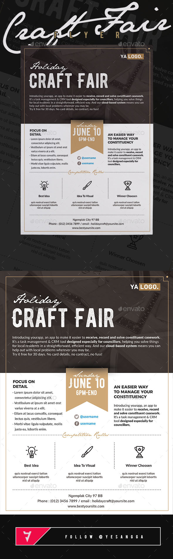 Event Craft Fair Flyer - Miscellaneous Events