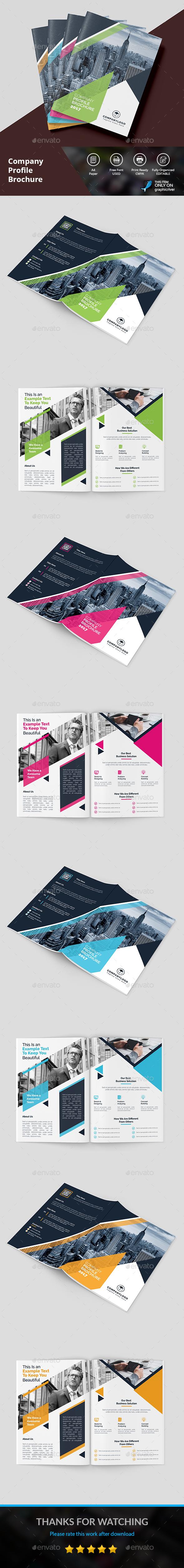 Profile Brochure - Brochures Print Templates