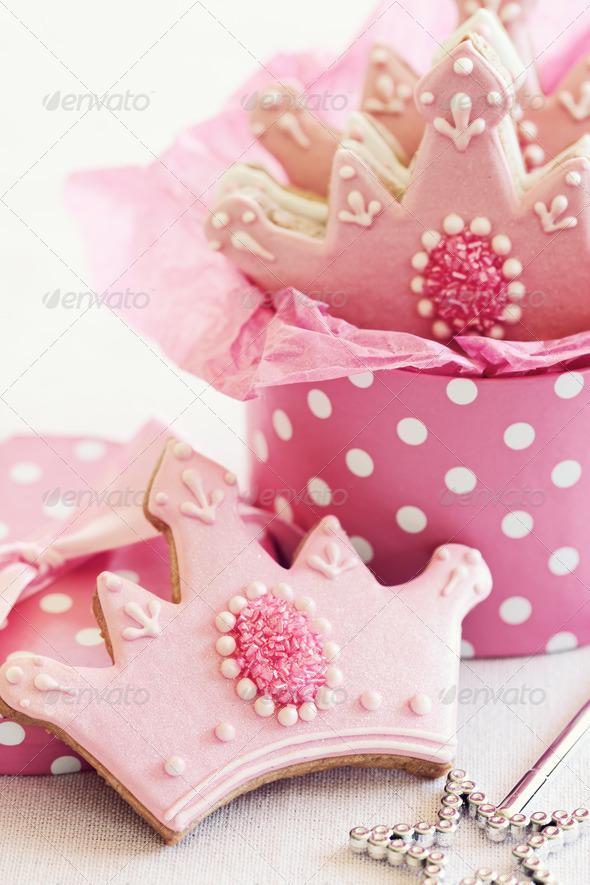 Princess cookies - Stock Photo - Images
