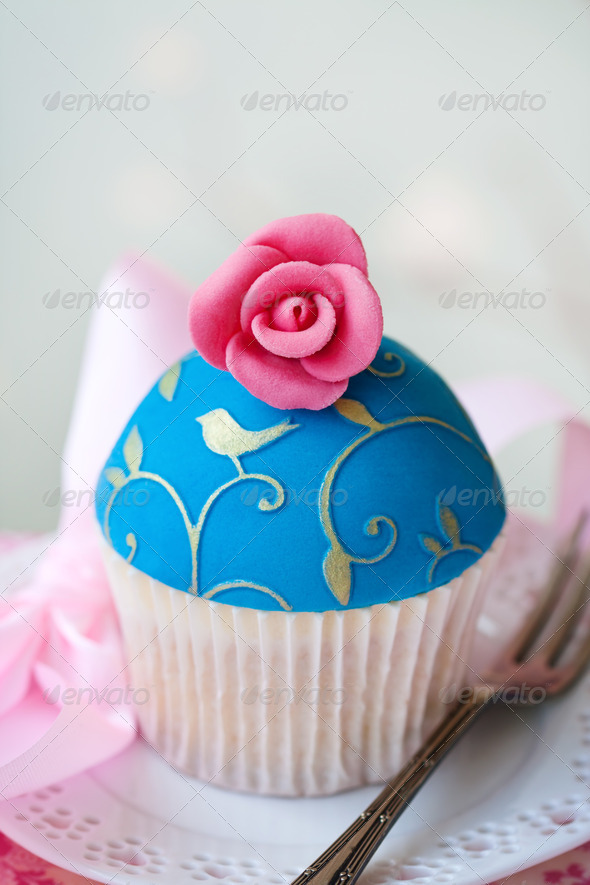 Gourmet cupcake - Stock Photo - Images