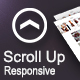 Scroll Top Button : For Responsive Websites+Bonus 20 png arrows