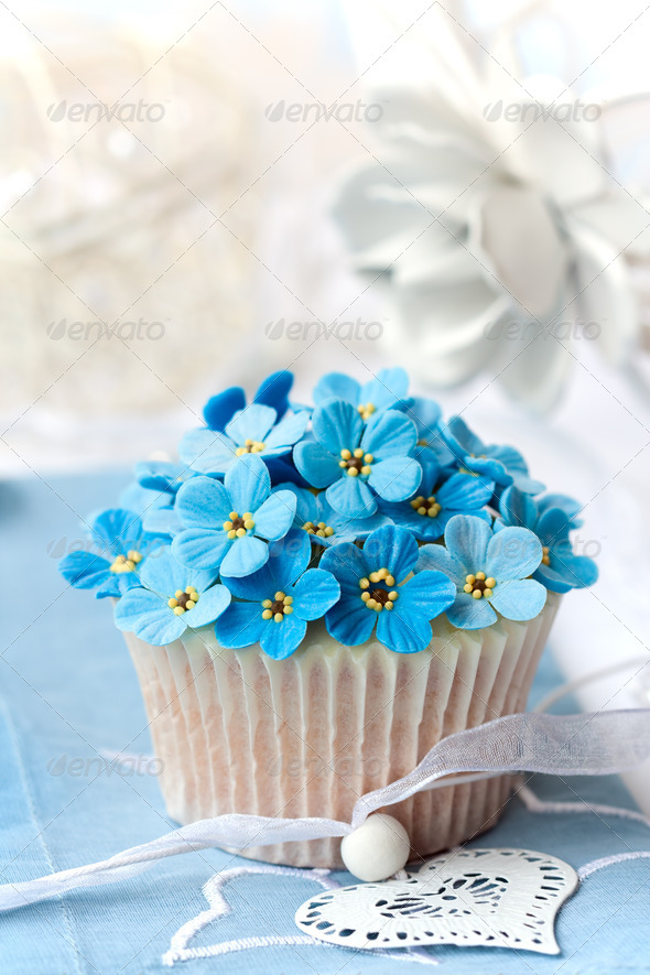 Wedding cupcake - Stock Photo - Images