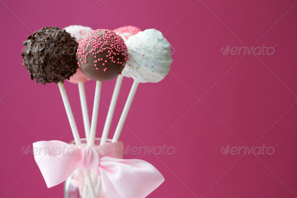 Cake pops - Stock Photo - Images