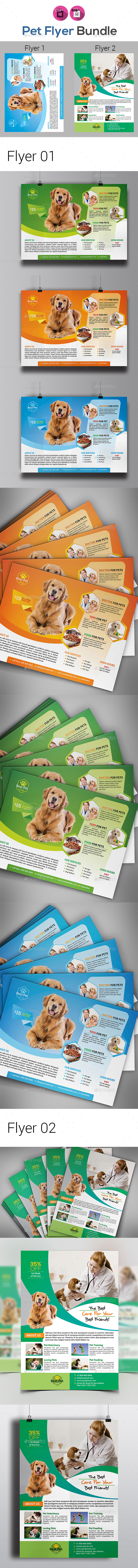 Pet Shop Flyers Templates - Corporate Flyers