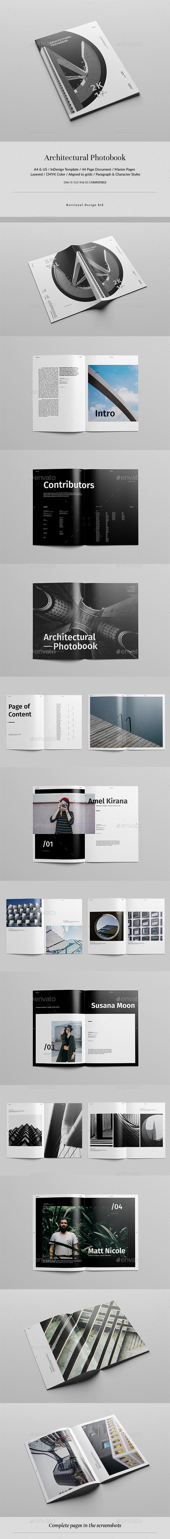 Architectural Photobook - Catalogs Brochures
