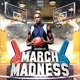 March Madness - Basketball Flyer Template - GraphicRiver Item for Sale