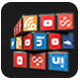 Social media 3D rubix cube - 3DOcean Item for Sale