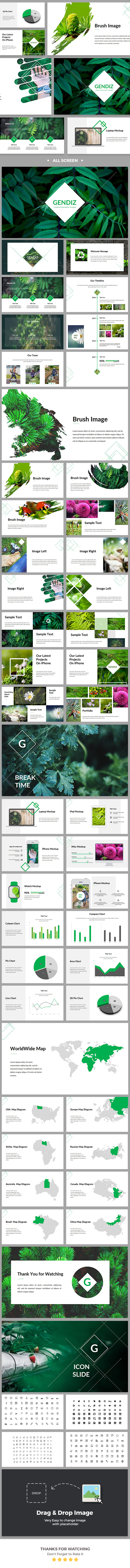 Gendiz Keynote Template - Business Keynote Templates