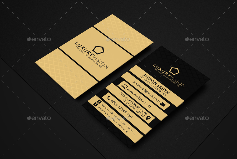 Luxury Vision Business Card by FvmGraphics | GraphicRiver