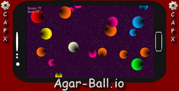 AGAR BALL - HTML5 Mobile Game (Construct 2 - CAPX) - CodeCanyon Item for Sale
