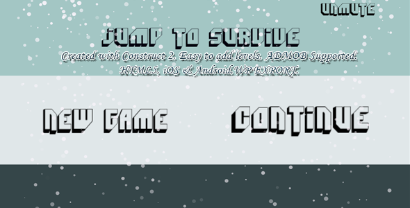 Jump to Survive (super hard) -- HTML5 Game, Mobile Vesion +Admob (Construct-2 CAPX) - CodeCanyon Item for Sale