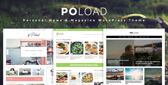 POLOAD – Fashion, Food, Baby, Blog WordPress Theme