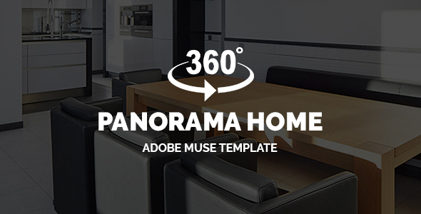 Panorama Home – Real Estate 360° Virtual Tour | Adobe Muse Template