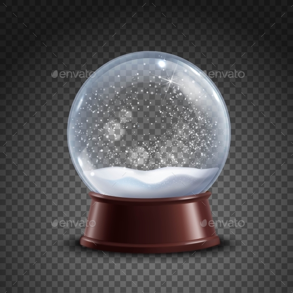 Snow Globe Composition - Man-made Objects Objects