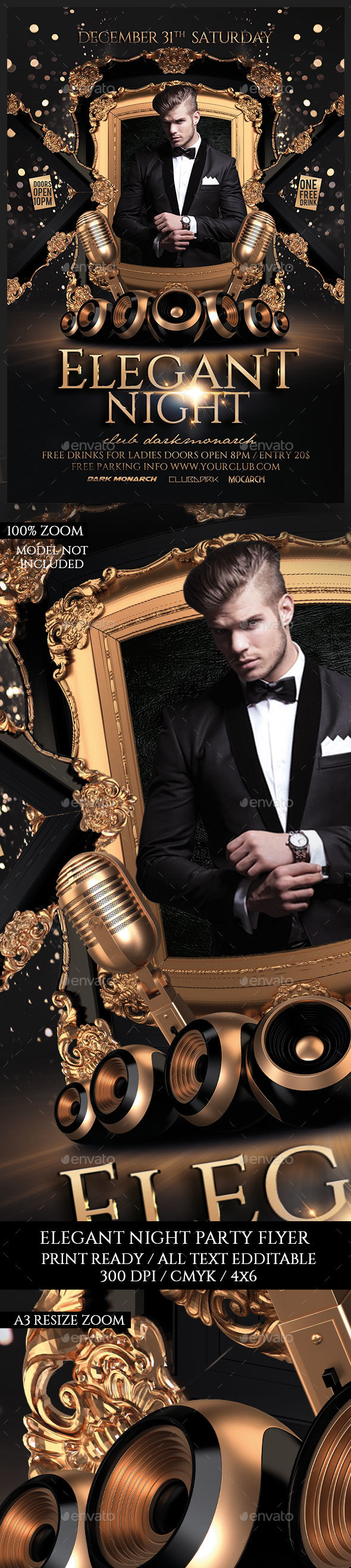 Elegant Night - Clubs & Parties Events