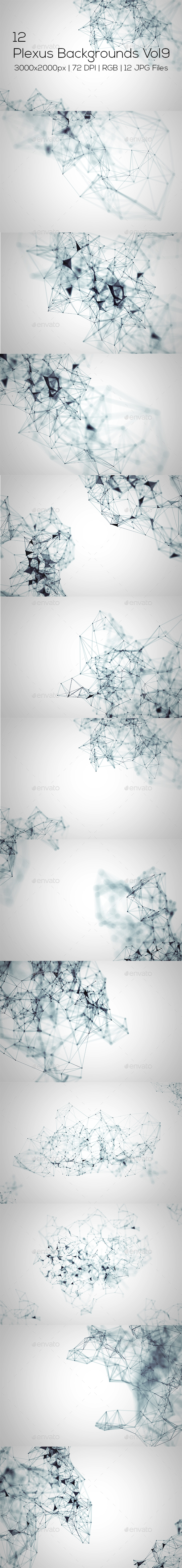 Plexus Backgrounds Vol9 - Abstract Backgrounds