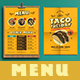 Mexican Food Menu+ Promotional Flyer