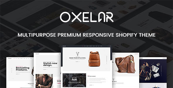 Oxelar - Fashion Responsive Shopify Theme