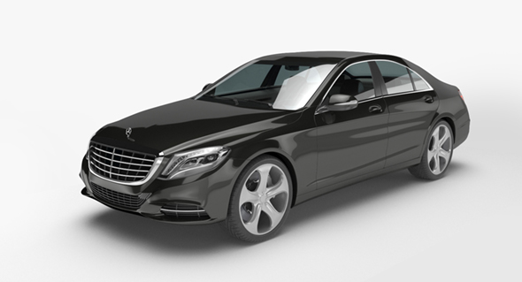 Mercedes-Benz S class W222 - 3DOcean Item for Sale