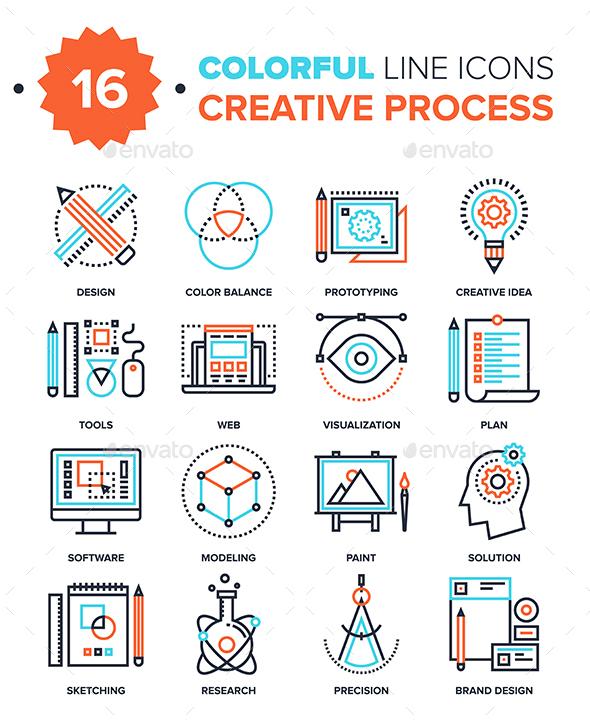 Creative Process - Icons