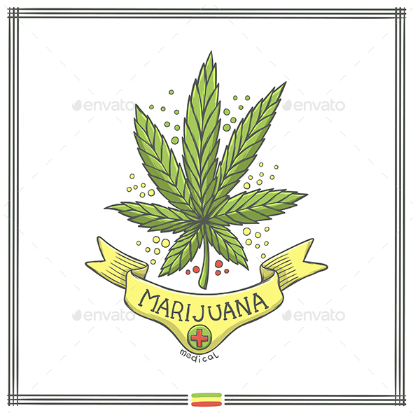 Medical Marijuana Logo Ten - Health/Medicine Conceptual