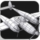 Low Poly Base Mesh Plane - 3DOcean Item for Sale