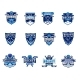 Set of Ice Hockey Badges - GraphicRiver Item for Sale