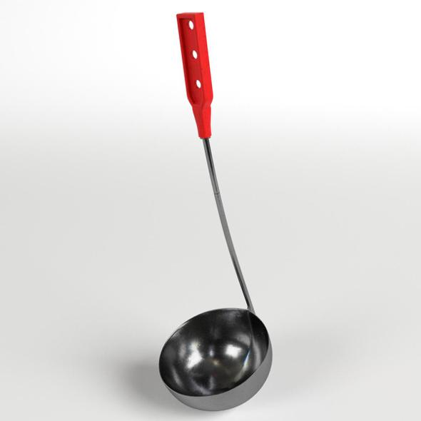 Ladle (Dipper, Scoop) - 3DOcean Item for Sale