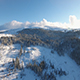 Snowy Mountain From Above - VideoHive Item for Sale