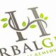 Herbal Letter H Logo Template