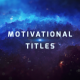 Motivational Titles Nulled