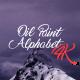 Oil Paint Alphabet 4K - VideoHive Item for Sale
